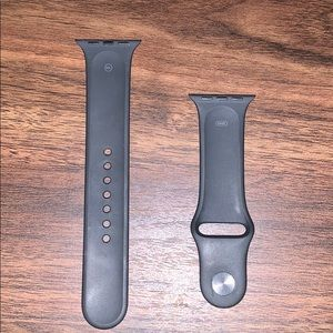 Accessories - Black Apple Watch band
